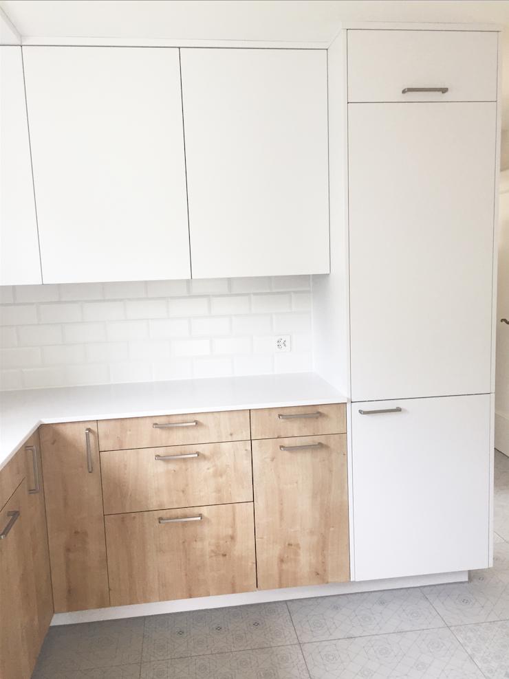 Materialisierung Küche