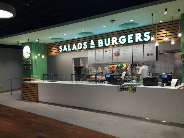 Salads & Burgers