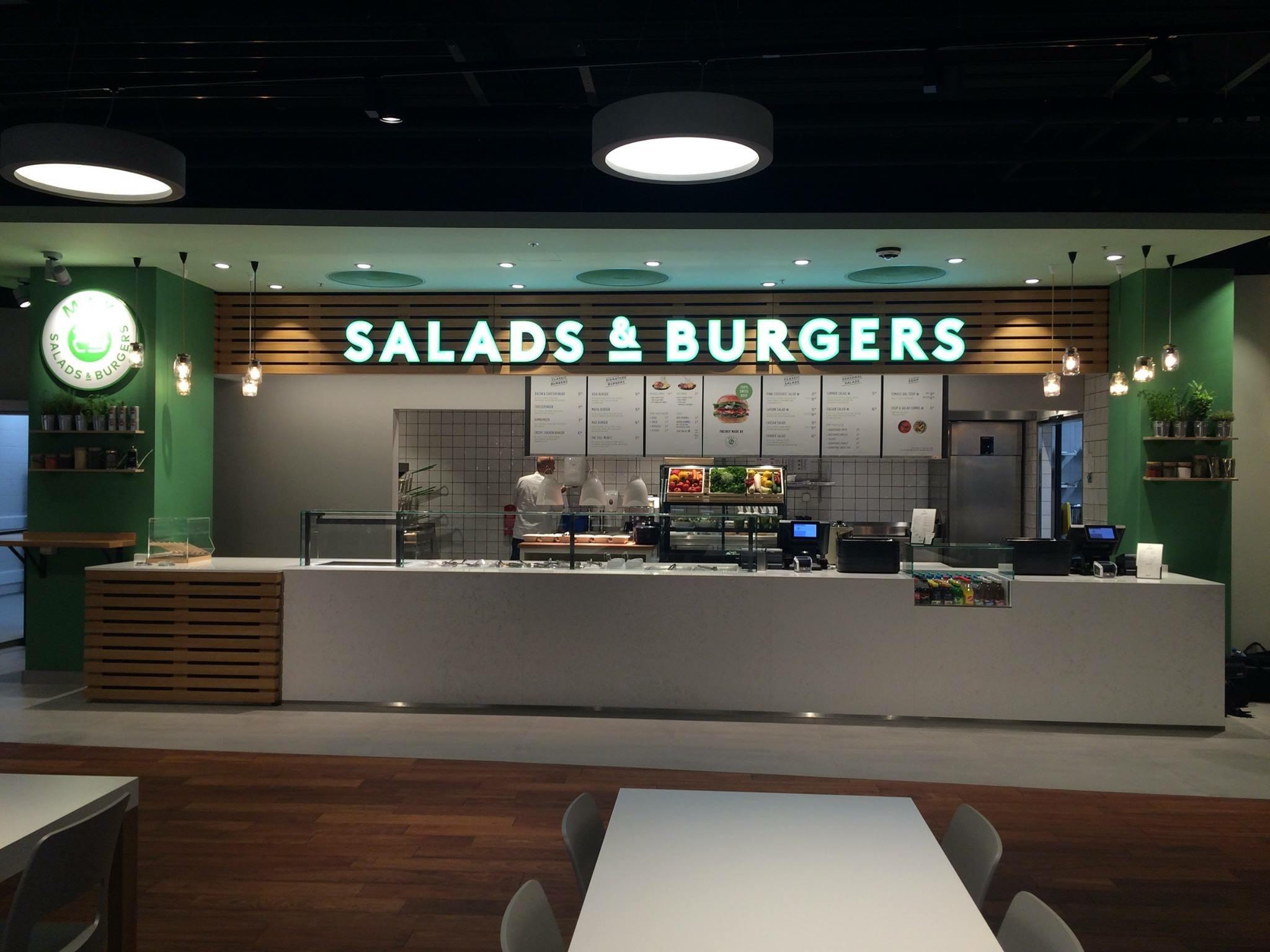 Max Salads & Burgers Tivoli Spreitenbach