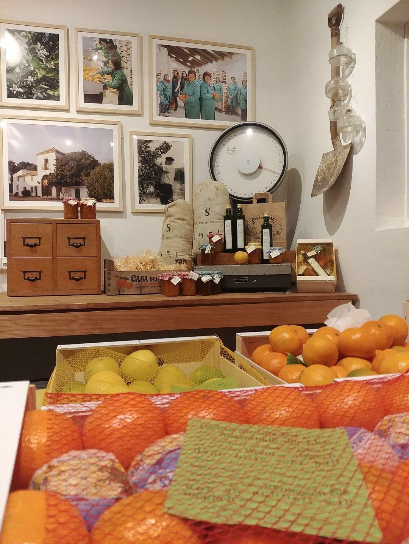Detail Orangen