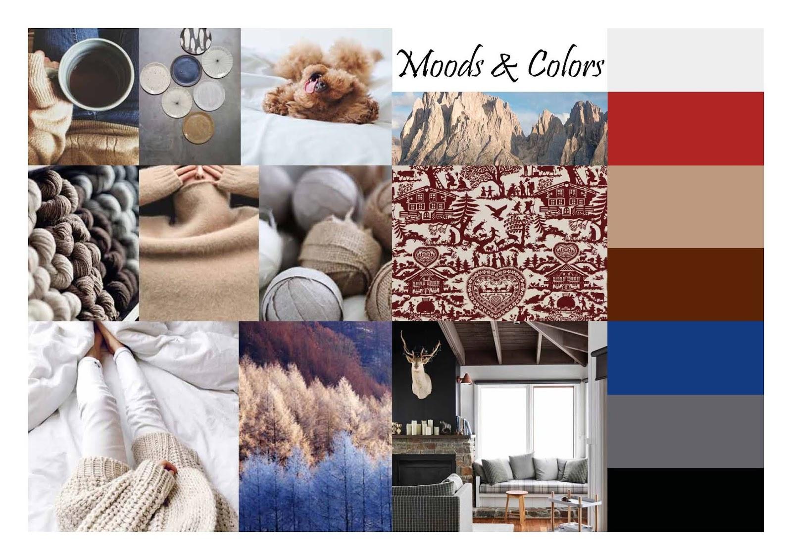 Moods und Farben