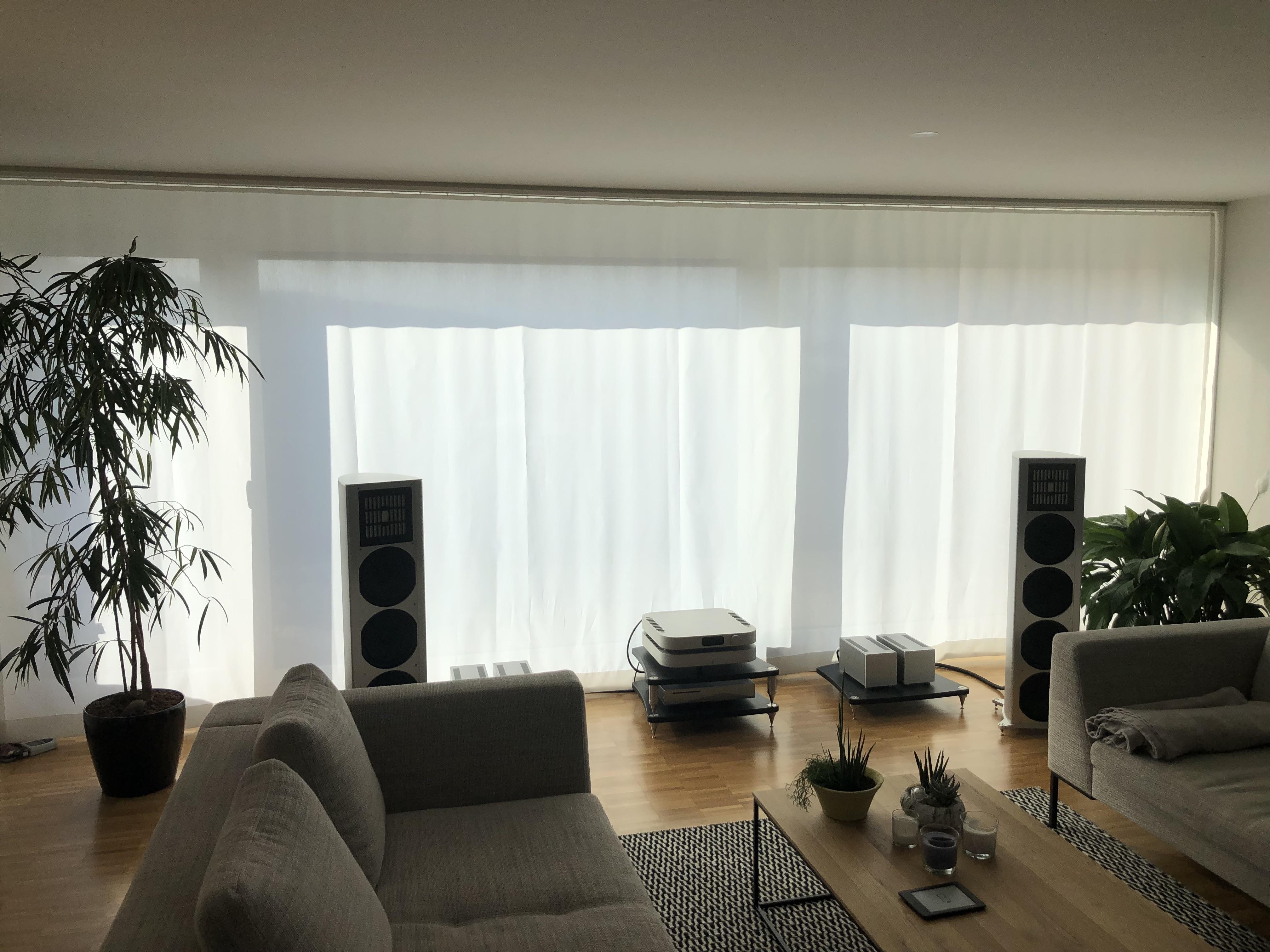 akustische Vorhänge