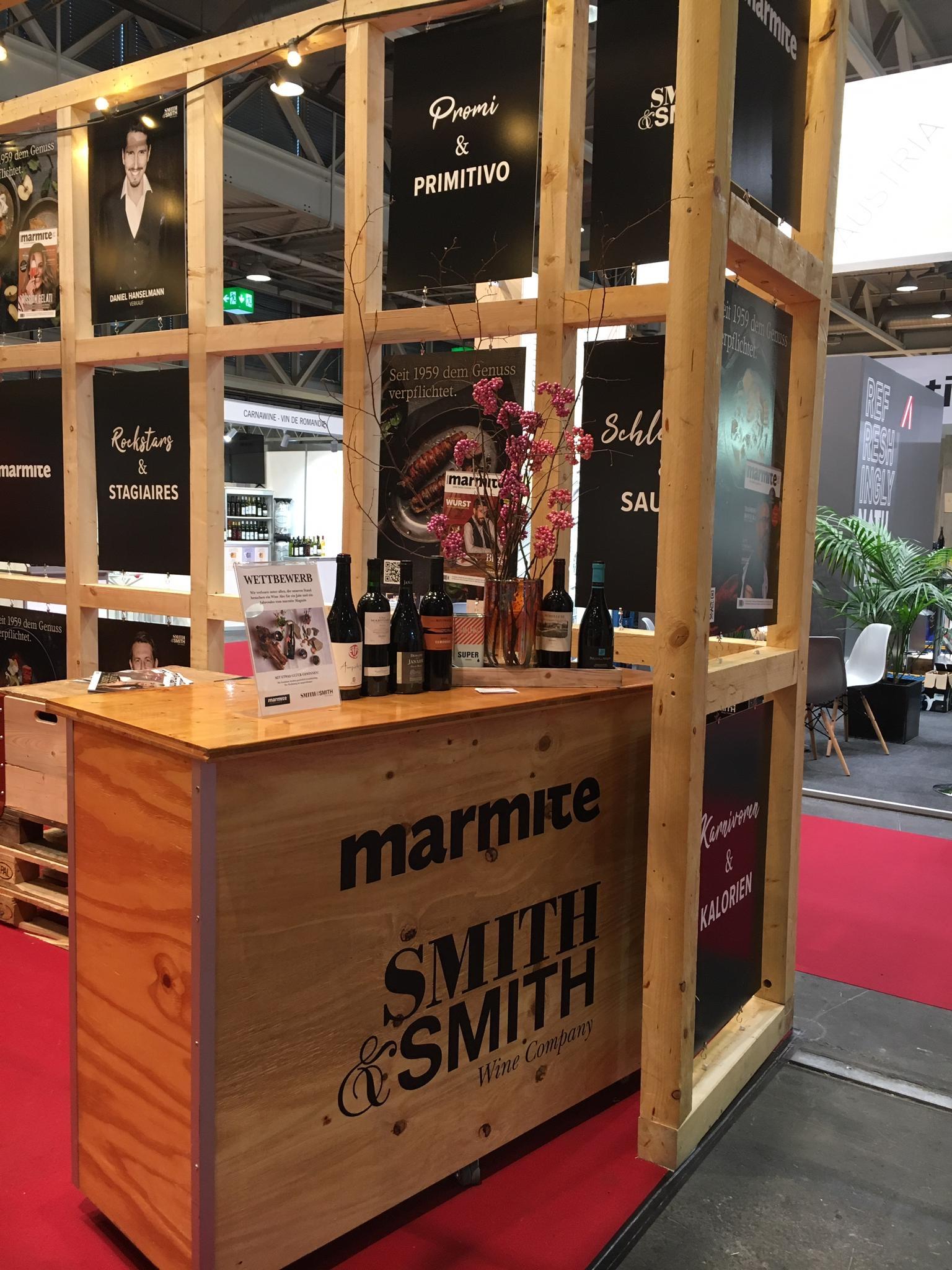 Smith & Smith Messestand Basel